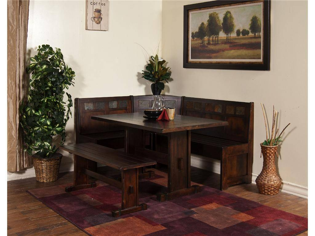 Dining Room : Small Dining Room Bench Seating Ideas With Potted throughout Corner Seating Ideas (Image 19 of 30)