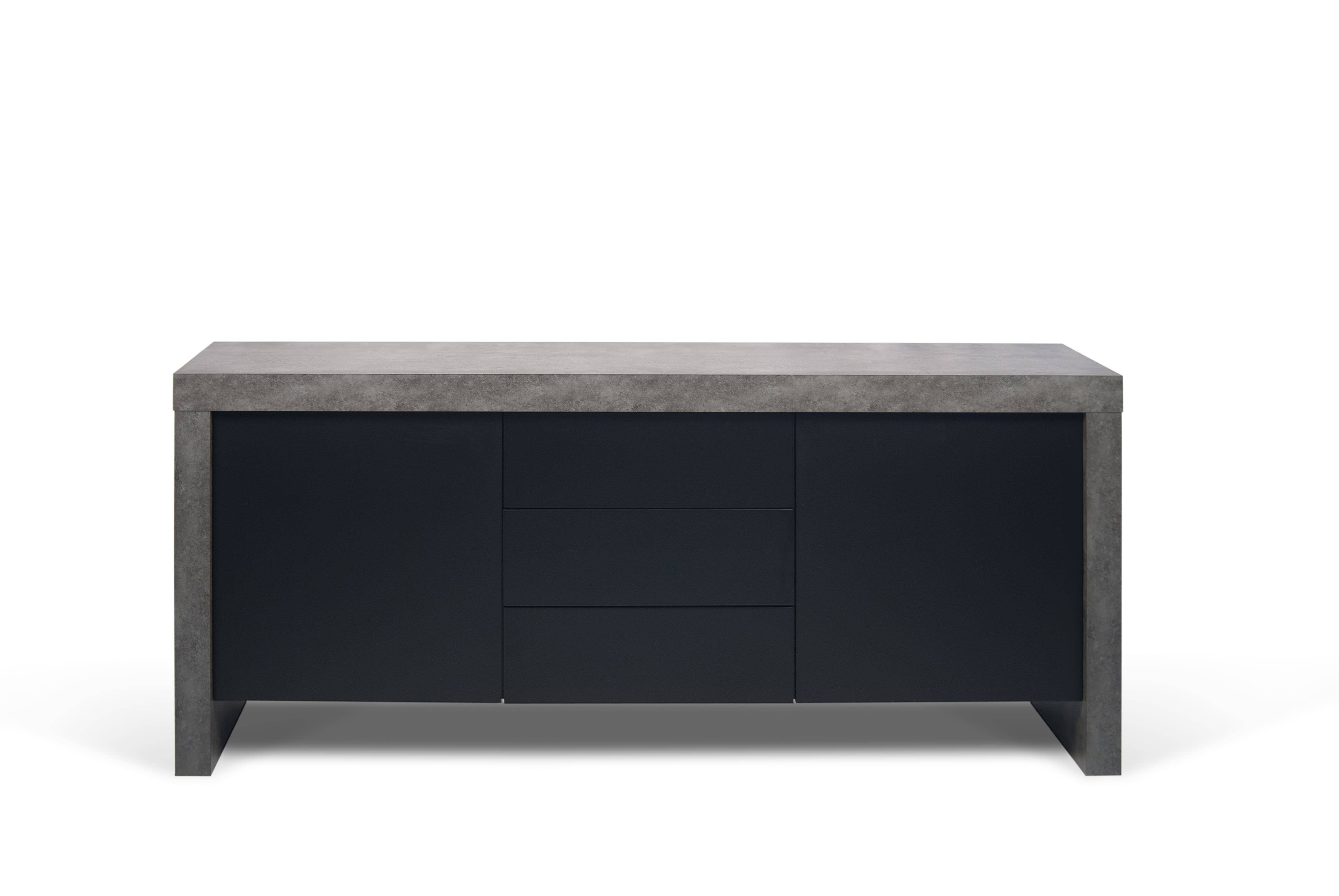 Discover Modern Sideboards And Buffets At Jus Modern with Black And Walnut Sideboards (Image 15 of 30)