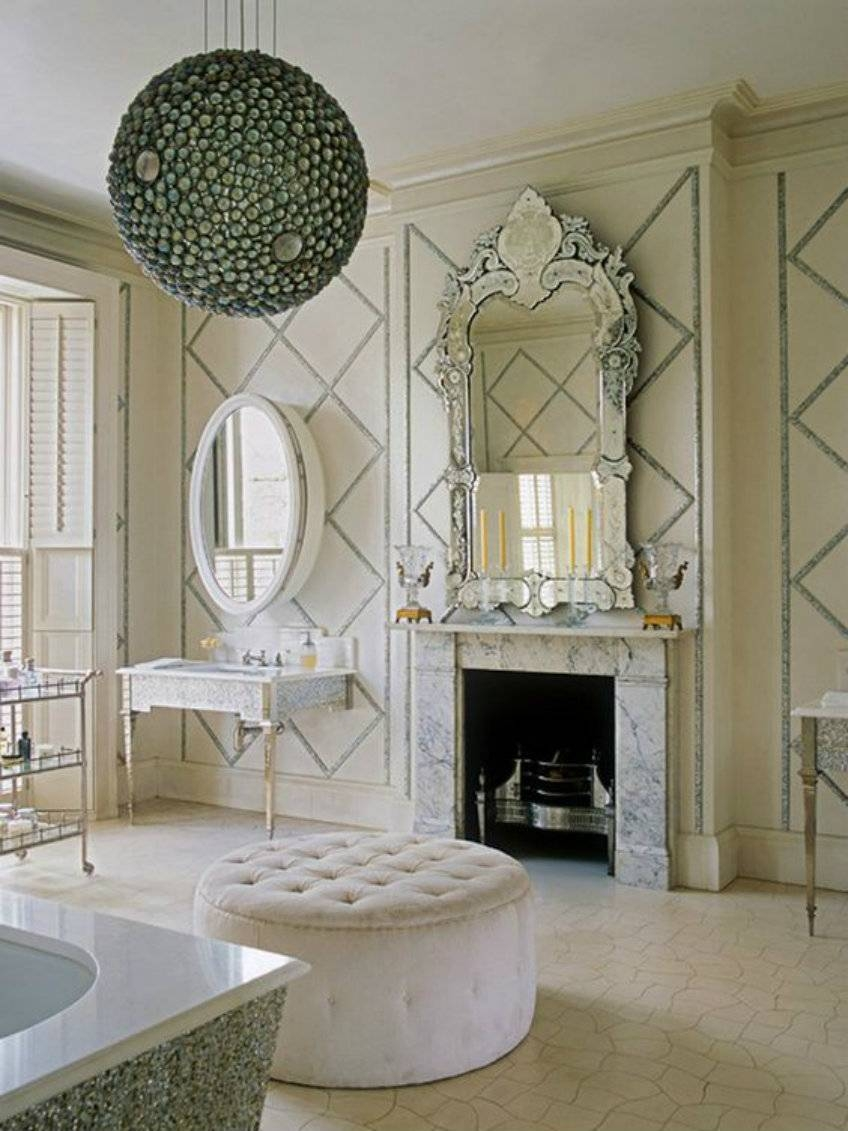 Discover The True Beauty Of Antique Luxury With Venetian Mirrors with Venetian Bathroom Mirrors (Image 12 of 25)