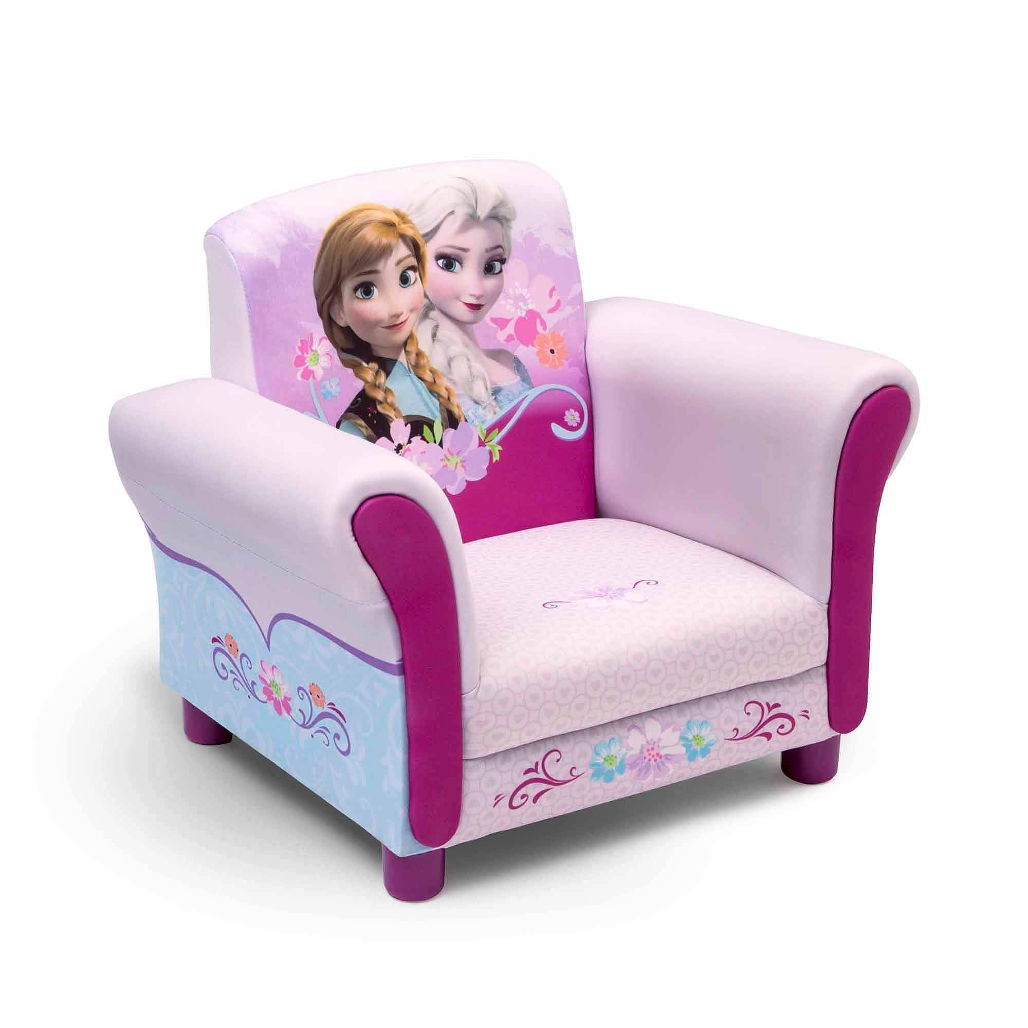 Disney Frozen Upholstered Chair - Walmart in Disney Sofa Chairs (Image 4 of 15)