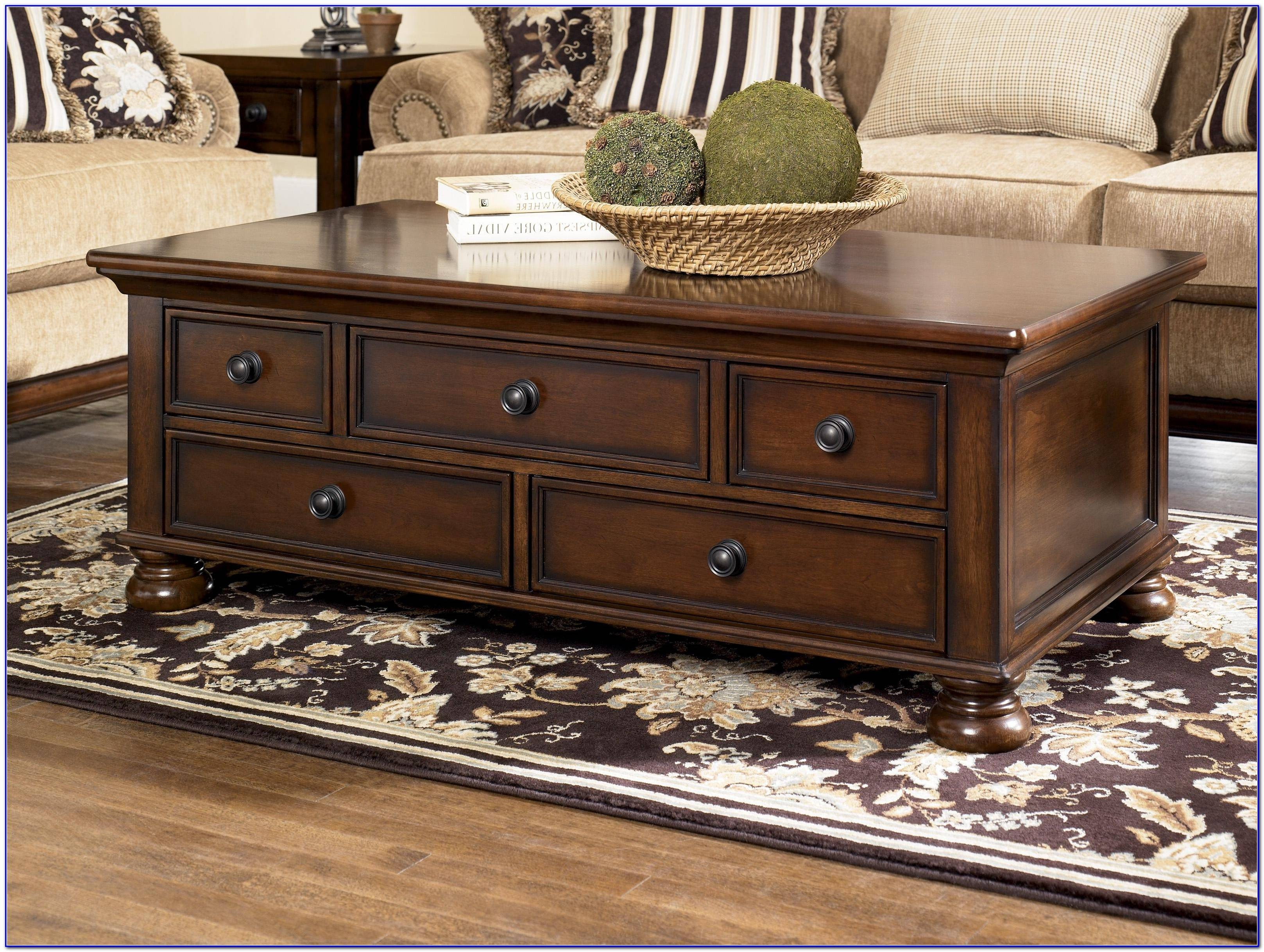 Distressed Dark Wood Coffee Table Modern Coffee Tables Cream with Big Square Coffee Tables (Image 21 of 30)