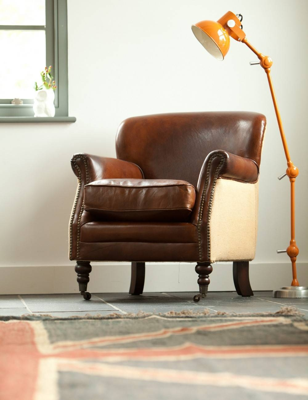 Distressed Vintage Leather Sofas & Armchairs | Rose & Grey within Vintage Leather Armchairs (Image 5 of 30)