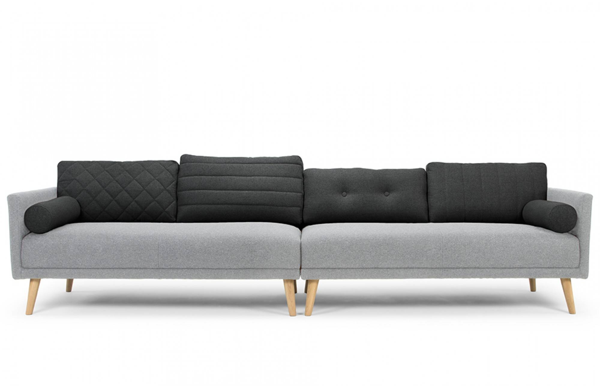 Dixie Mix 4 Seater Sofa Out And Out Original with Four Seater Sofas (Image 6 of 30)