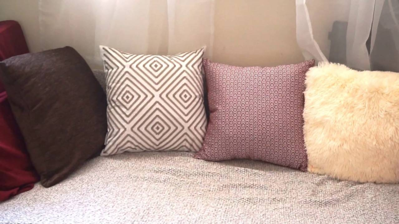 Diy: Floor Cushion Seating! | Stayvivacious – Youtube With Comfy Floor Seating (View 11 of 30)