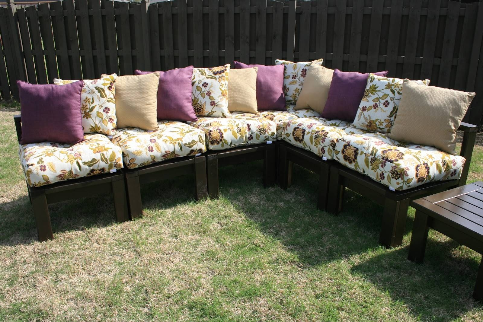 Diy Outdoor Sectional - The 36Th Avenue with Building A Sectional Sofa (Image 14 of 30)