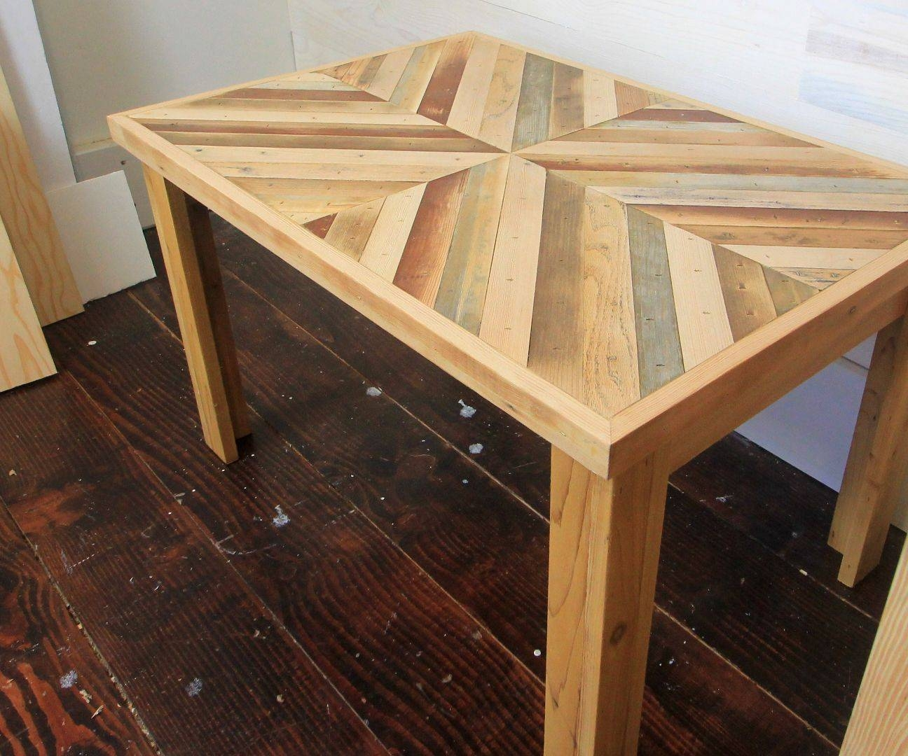 Diy Rustic Style Coffee Table With Reclaimed Wood (With Pictures) within Rustic Style Coffee Tables (Image 11 of 30)