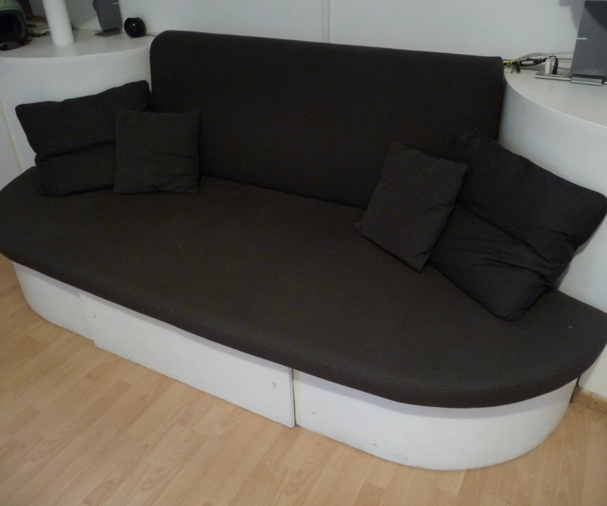 Diy Stylish Sofa-Bed: 7 Steps (With Pictures) inside Diy Sleeper Sofa (Image 13 of 30)