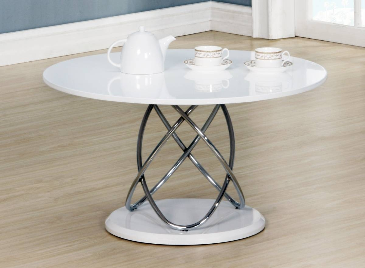 Dockland Prestige Residential » Eclipse White High Gloss Coffee Table in White High Gloss Coffee Tables (Image 9 of 30)
