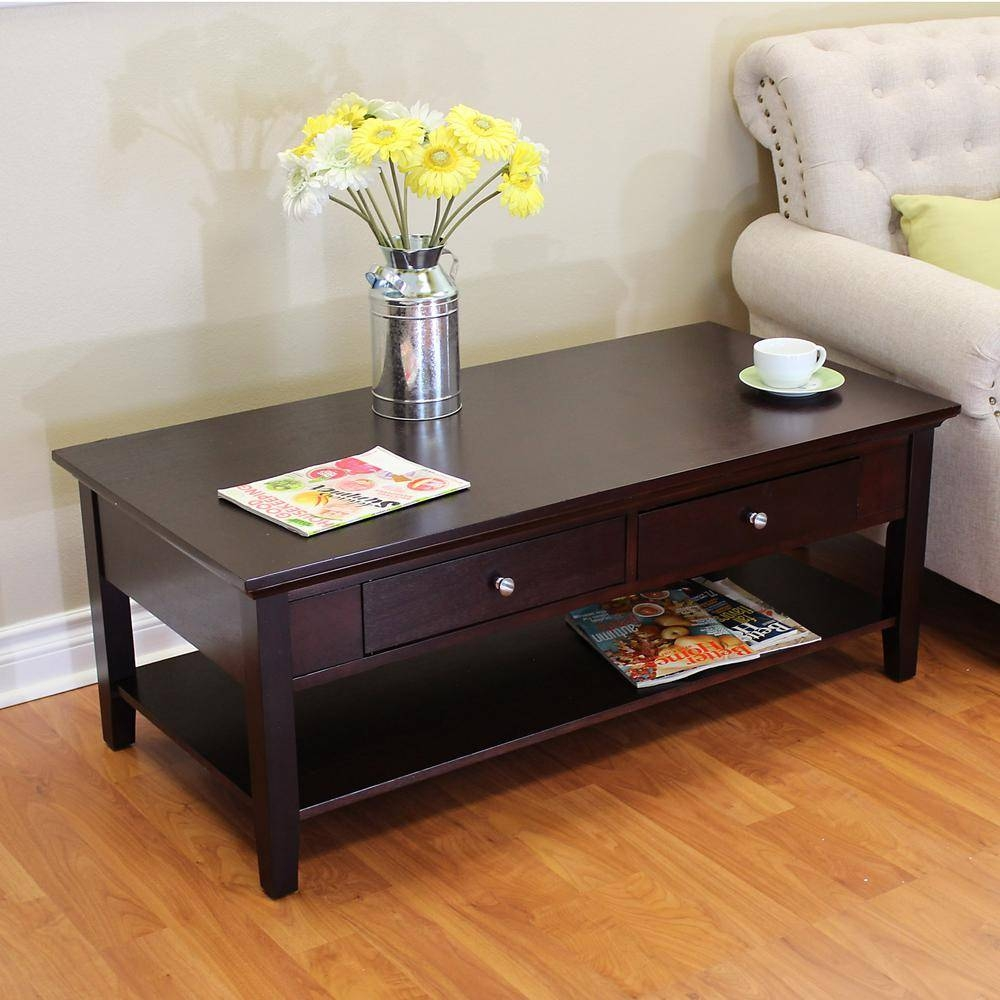 Donnieann Ferndale Espresso Storage Coffee Table-351938 - The Home for Espresso Coffee Tables (Image 9 of 30)