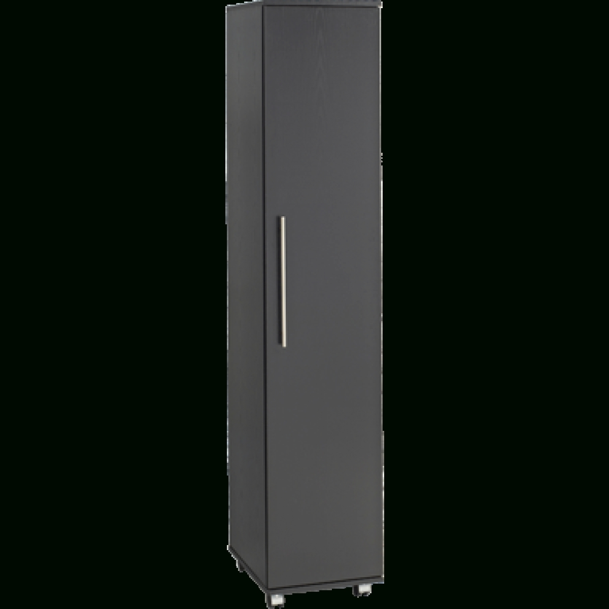 Door Bobby Wardrobe for Single Black Wardrobes (Image 3 of 15)