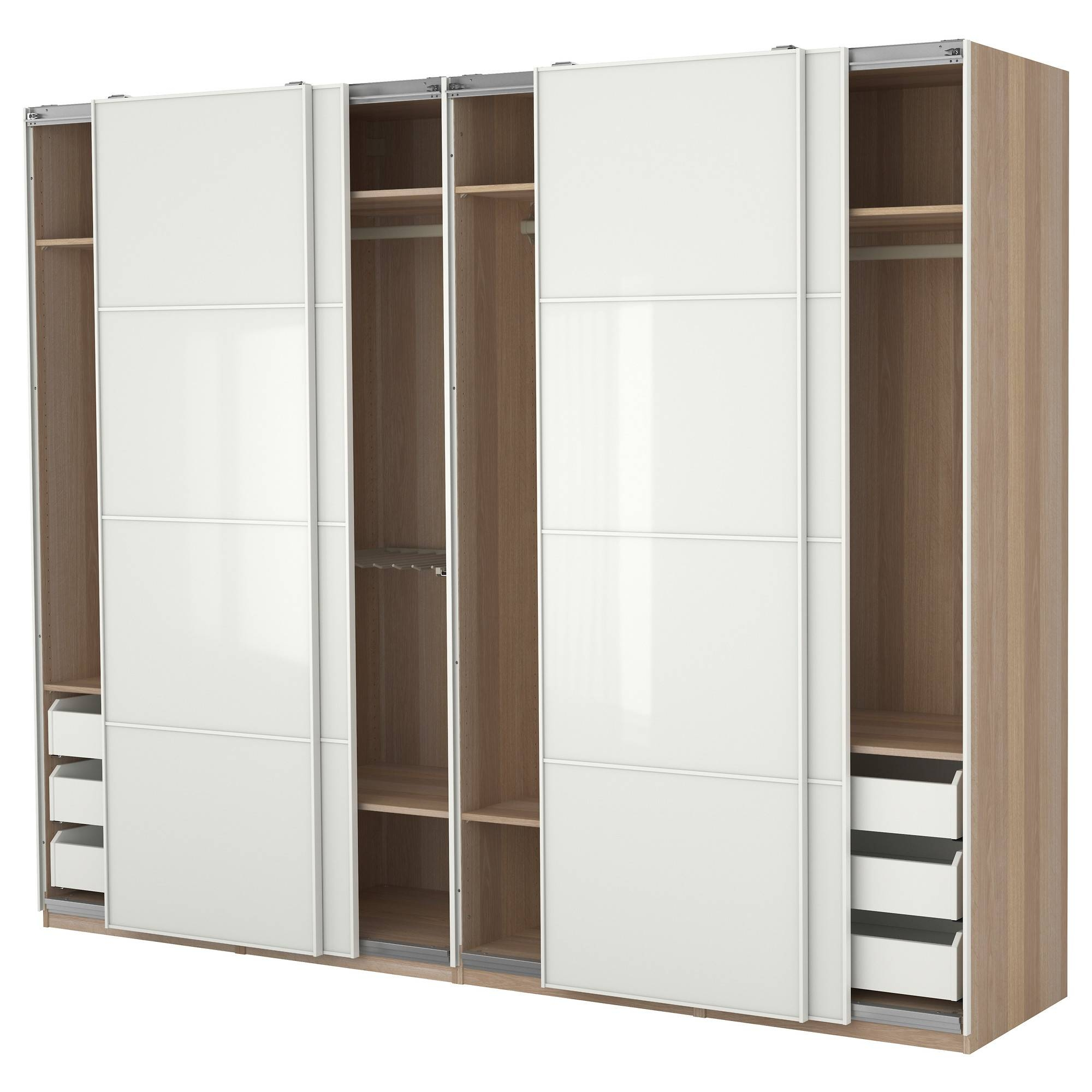 Door Wardrobe 3 Door Freestanding Large Wardrobes Sliding Doors in Cheap 3 Door Wardrobes (Image 6 of 15)