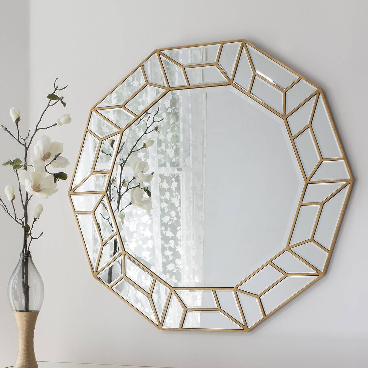 D'or Art Deco Mirror From £349 - Luxury Wall Mirrors | Ashden Road in Art Deco Style Mirrors (Image 16 of 25)