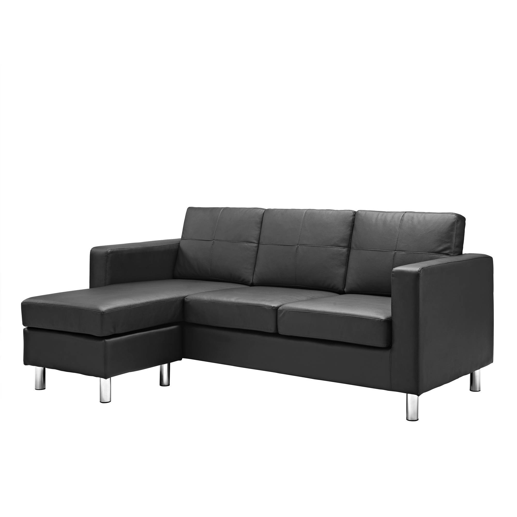 Dorel Living Small Spaces Configurable Sectional Sofa, Multiple for Mini Sectional Sofas (Image 6 of 30)