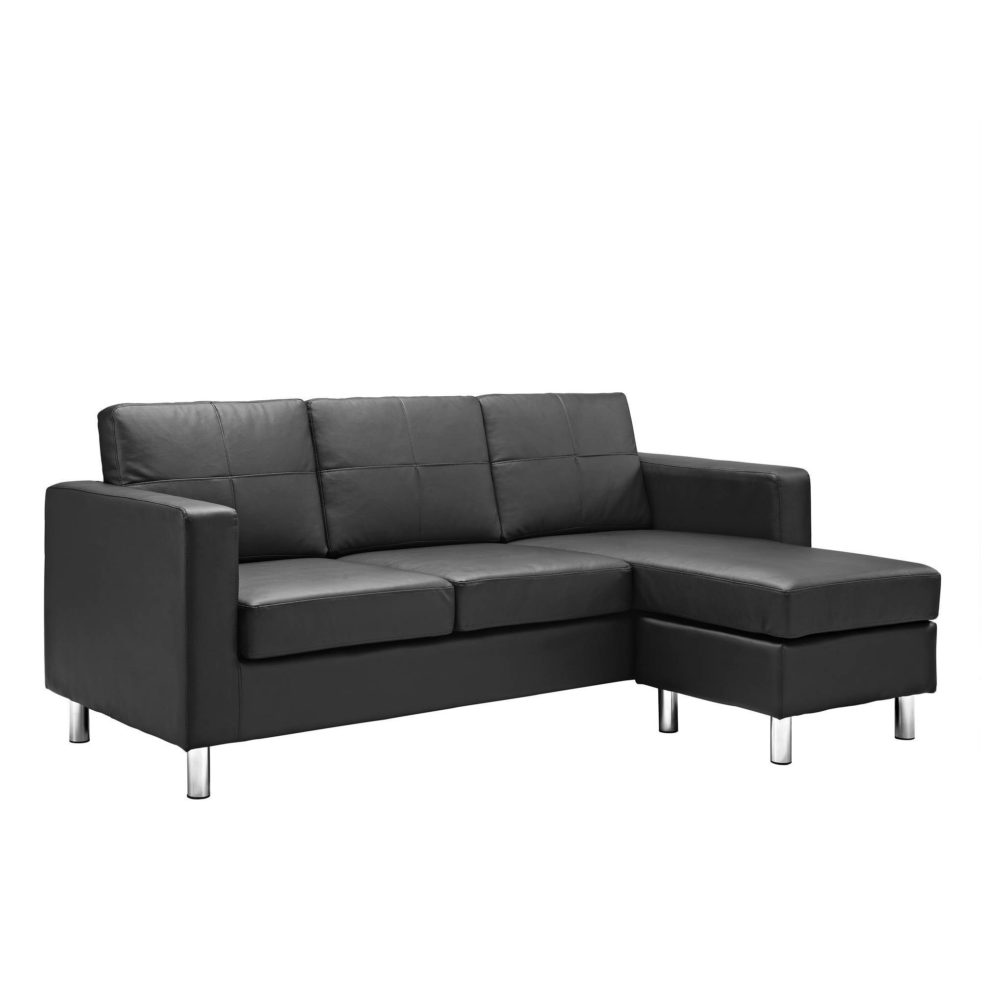 Dorel Living Small Spaces Configurable Sectional Sofa, Multiple inside Wallmart Sofa (Image 8 of 25)