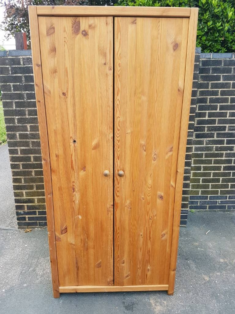 Double Pine Wardrobe | In Guildford, Surrey | Gumtree pertaining to Double Pine Wardrobes (Image 4 of 15)