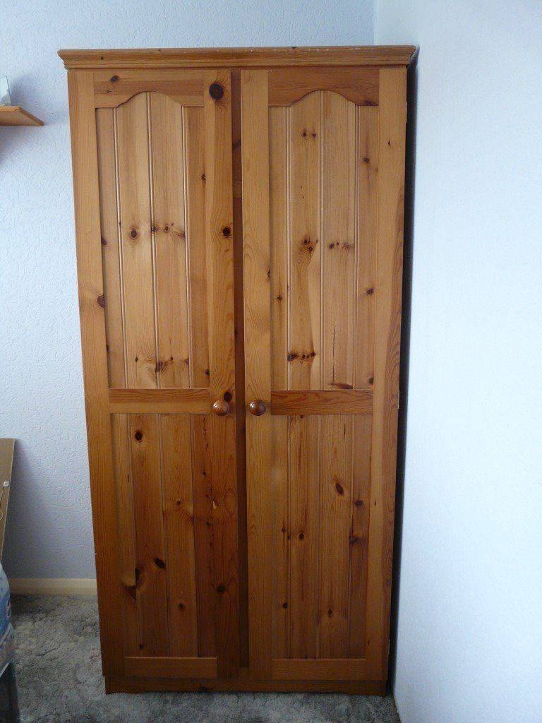 Double Pine Wardrobe | In Sandwich, Kent | Gumtree with regard to Double Pine Wardrobes (Image 5 of 15)