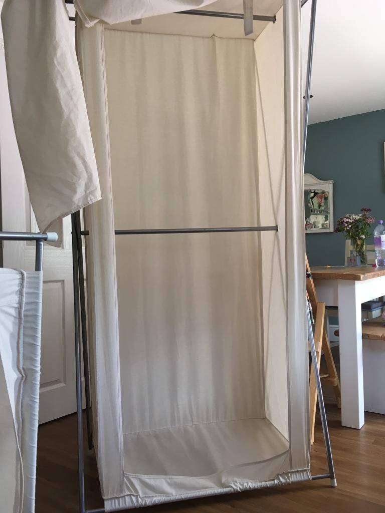 Double Rail Canvas Wardrobes | In Rothley, Leicestershire | Gumtree pertaining to Double Rail Canvas Wardrobes (Image 10 of 30)