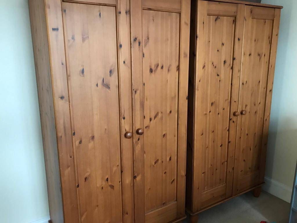 Double Wardrobes X 2 | In Cyncoed, Cardiff | Gumtree for Double Wardrobes (Image 6 of 15)