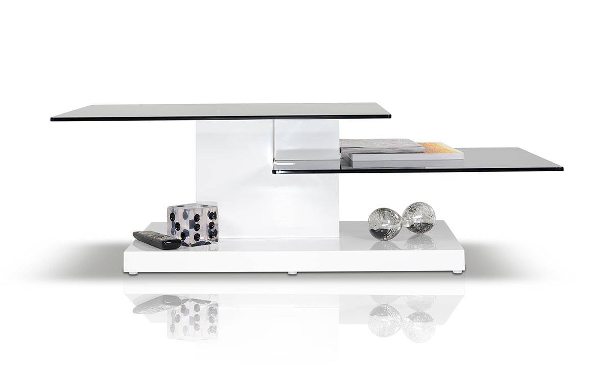 Dove Contemporary White High Gloss Coffee Table inside Gloss Coffee Tables (Image 12 of 30)