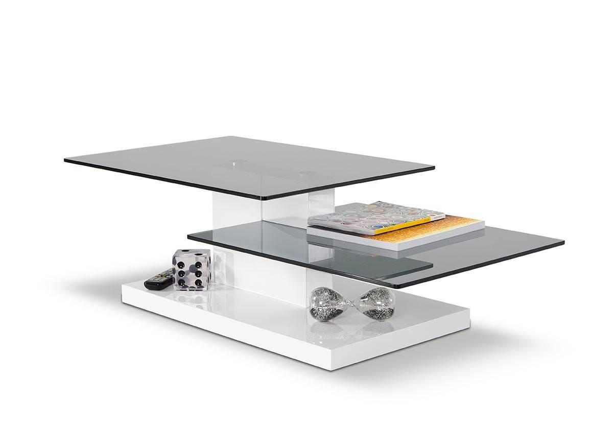 Dove Contemporary White High Gloss Coffee Table regarding High Gloss Coffee Tables (Image 10 of 30)