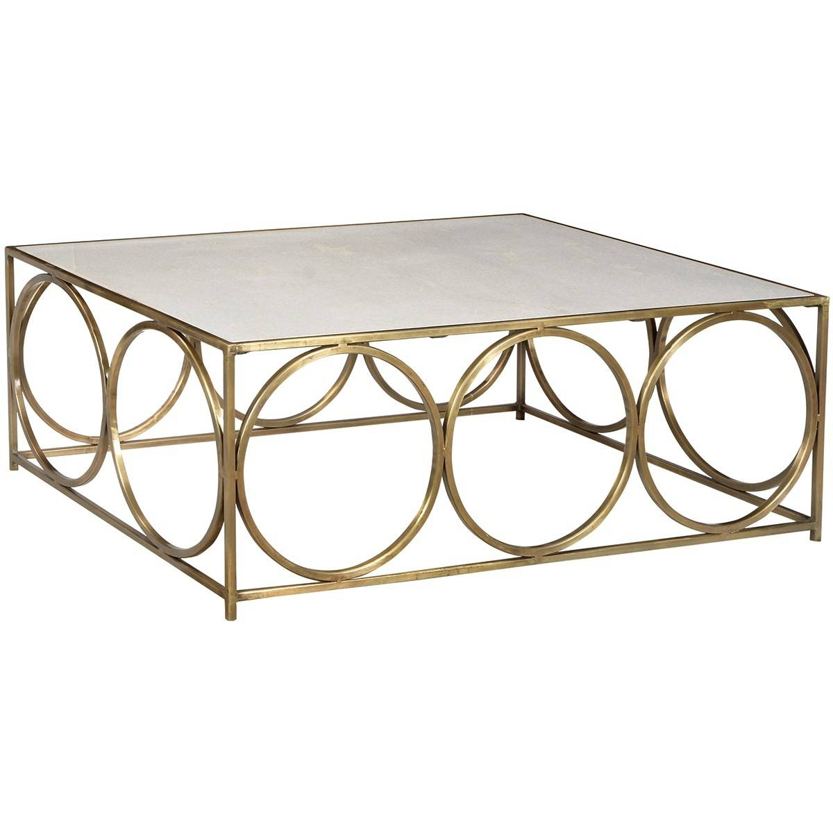 Dovetail Coffee Table-Iron/marble | Candelabra, Inc. in Marble And Metal Coffee Tables (Image 11 of 30)