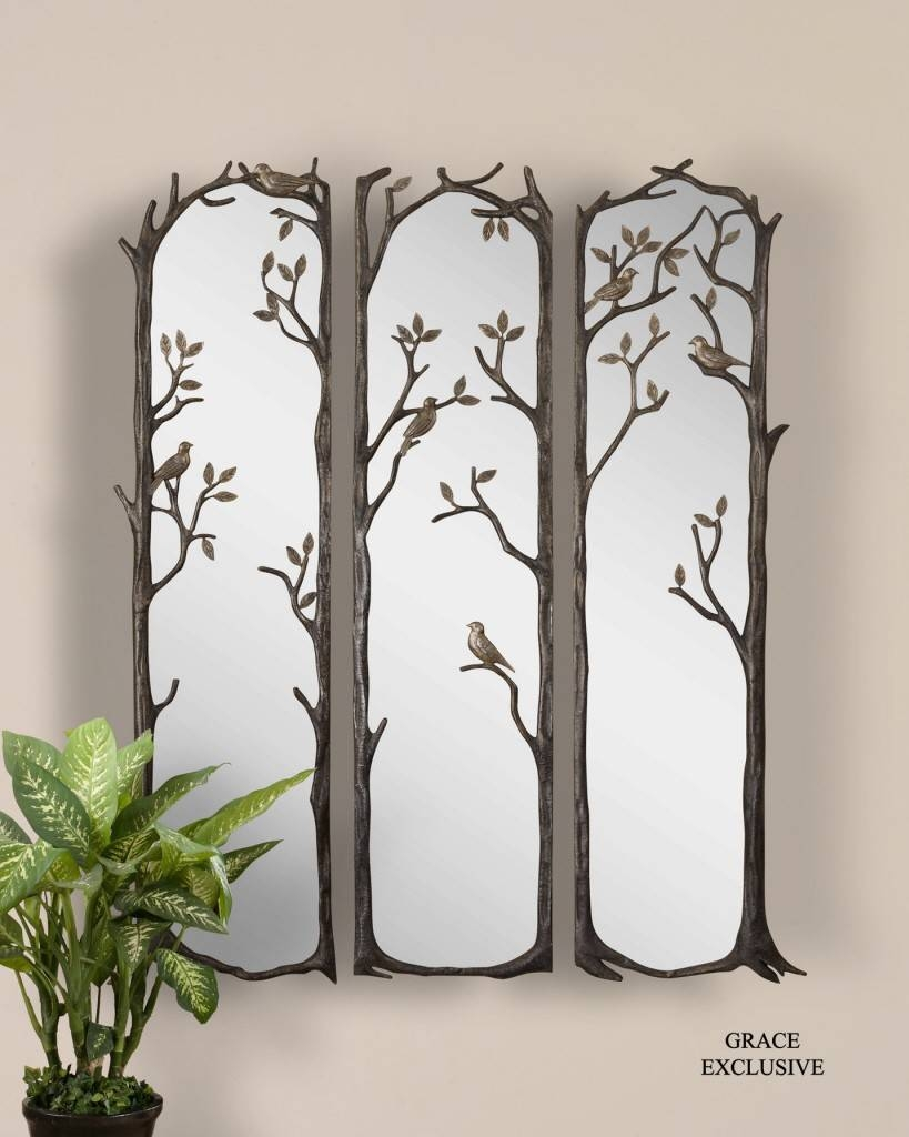 Download Large Decorative Wall Mirror | Gen4Congress regarding Fancy Wall Mirrors (Image 6 of 25)