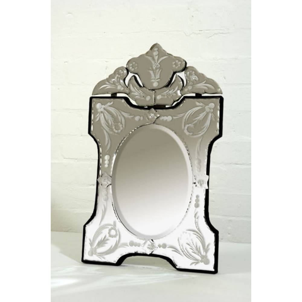 Dressing Table Mirrors throughout Venetian Table Mirrors (Image 6 of 25)