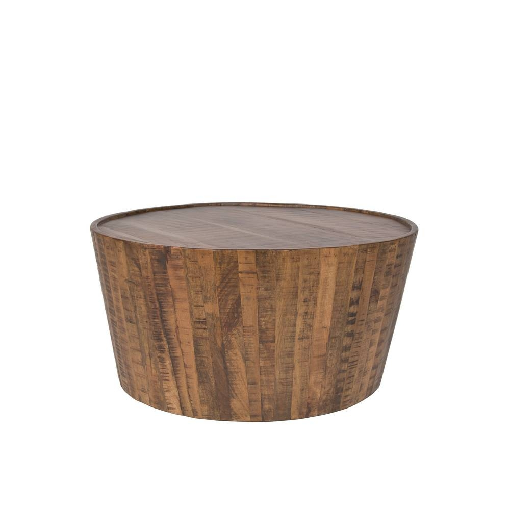 Drum Coffee Table — The Goods regarding Mango Coffee Tables (Image 10 of 30)