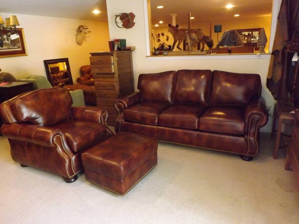 Durable Full Grain Leather Sofa — Home Design Stylinghome Design with regard to Full Grain Leather Sofas (Image 5 of 30)