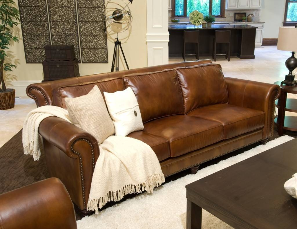 Durable Full Grain Leather Sofa — Home Design Stylinghome Design within Full Grain Leather Sofas (Image 6 of 30)