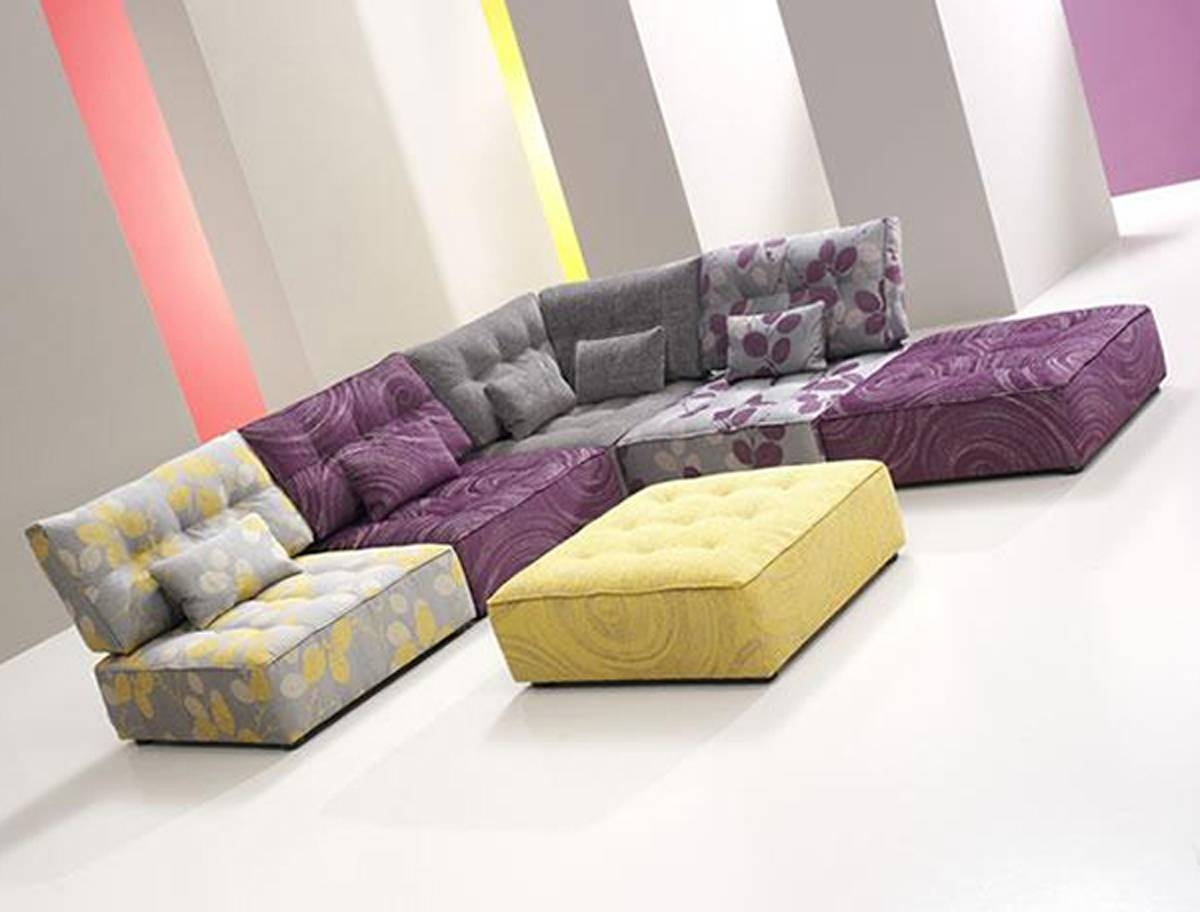 ▻ Sofa : 1 Interior Feminine Simple Beige Sofa Set Idea Cool Grey intended for Funky Sofas For Sale (Image 26 of 30)