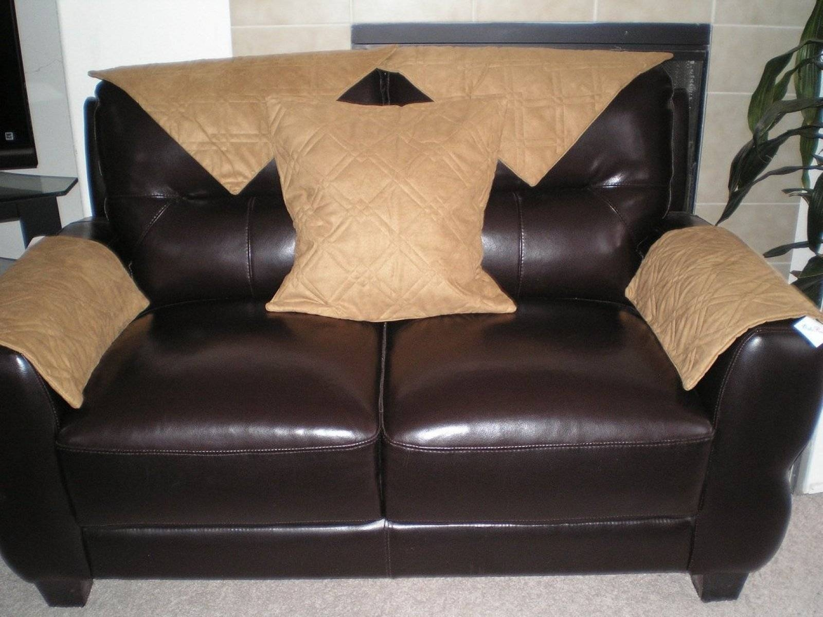 Slipcovers For Leather Sofa And Loveseat Sofa Hpricot