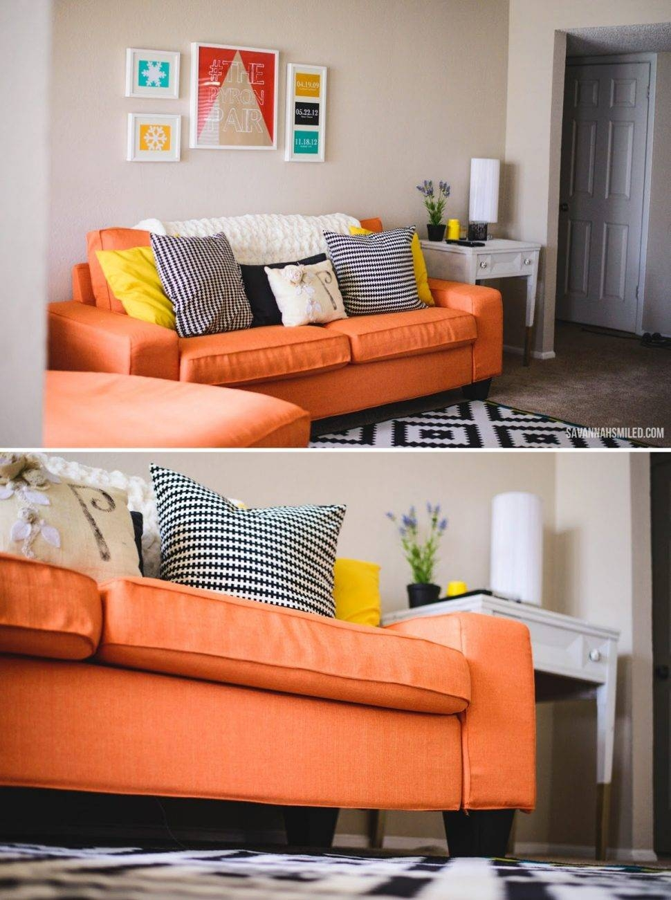 ▻ Sofa : 35 Lovely Sofa Covers Ikea Ikea Couch 17 Best Ideas pertaining to Orange Ikea Sofas (Image 30 of 30)