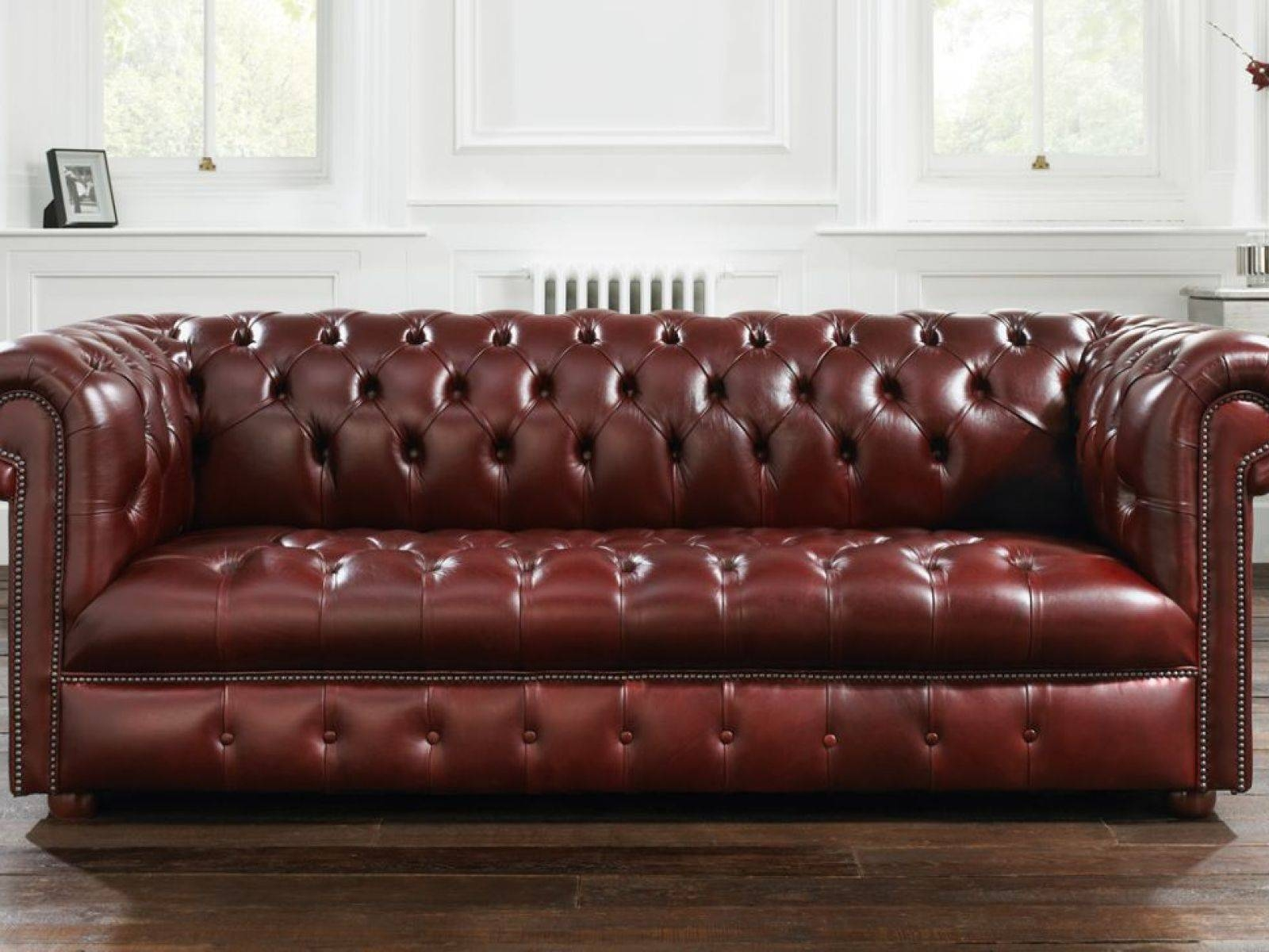 ▻ Sofa : 4 Lovely Chesterfield Sofa In Square As Gorgeous Black with regard to Tufted Leather Chesterfield Sofas (Image 30 of 30)