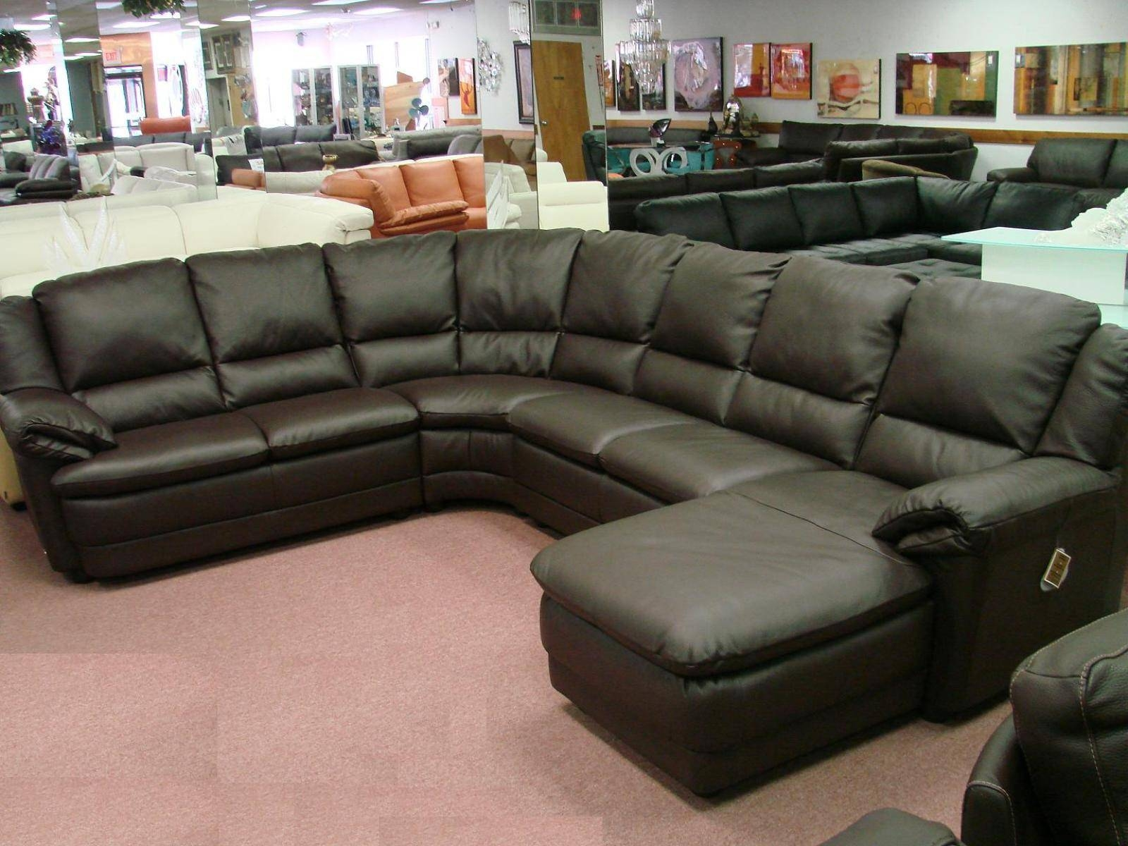 30 s Leather Sofa Sectionals for Sale