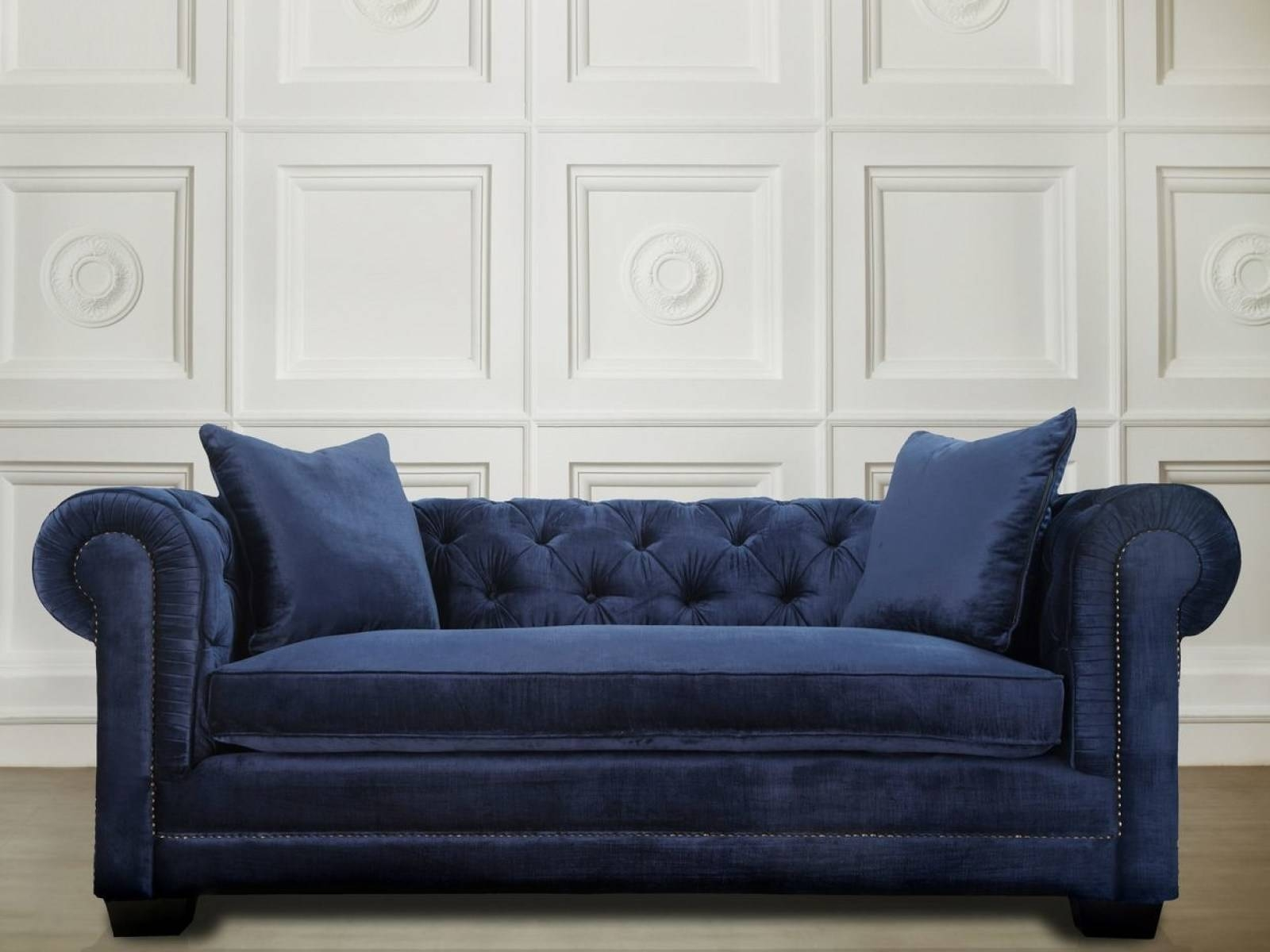 ☆▻ Sofa : 11 Chesterfield Leather Sofa In Red Plus Nailhead Trim with regard to Small Chesterfield Sofas (Image 30 of 30)