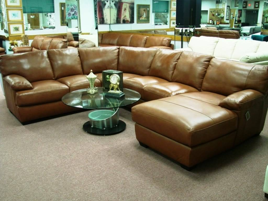 ☆▻ Sofa : 13 Appealing Sectional Leather Couches Black Color pertaining to Cream Sectional Leather Sofas (Image 12 of 12)