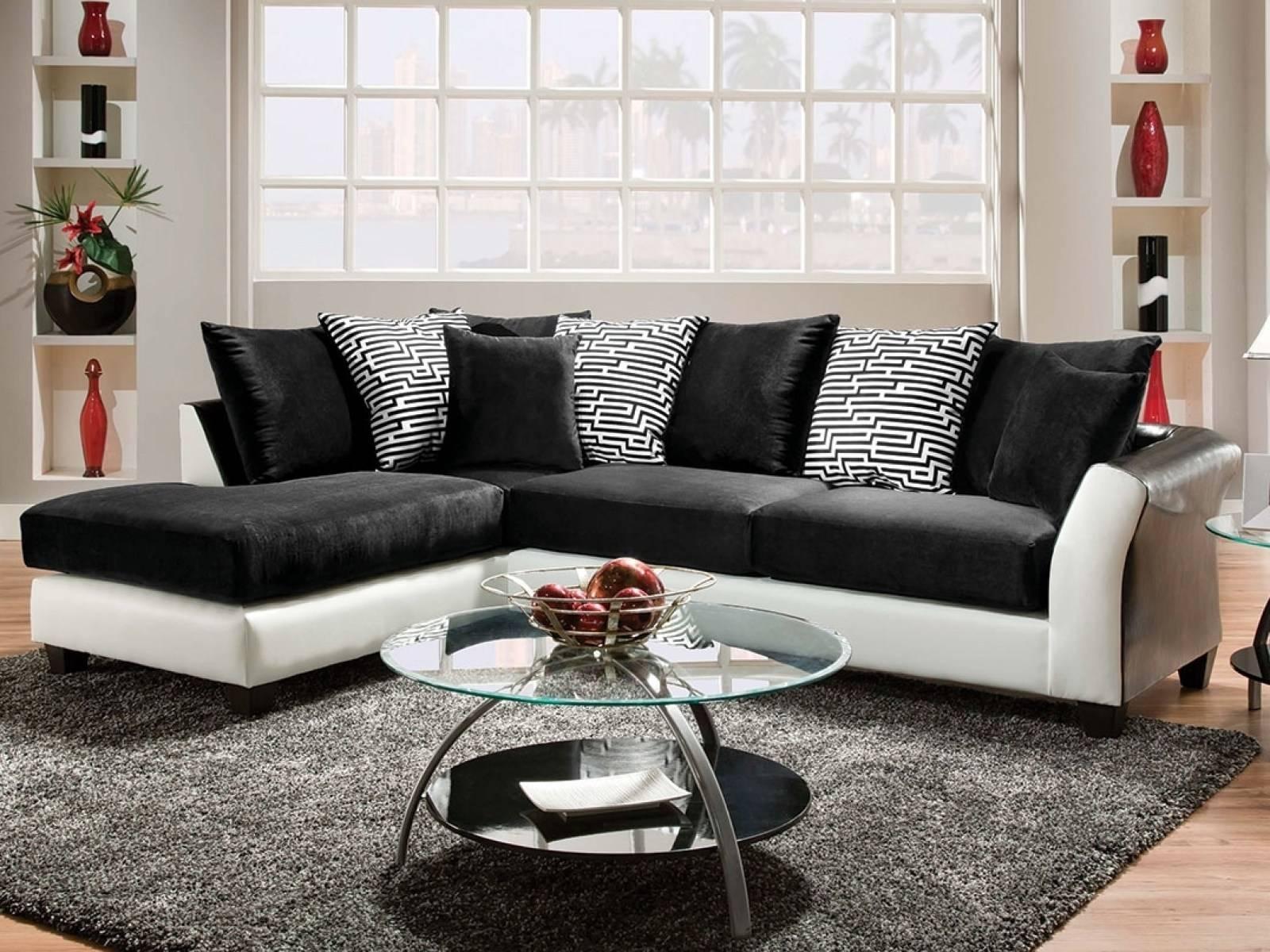 ☆▻ Sofa : 28 3032C2 Inside 89 Wonderful Black And White Sofa Set pertaining to Black And White Sofas (Image 30 of 30)