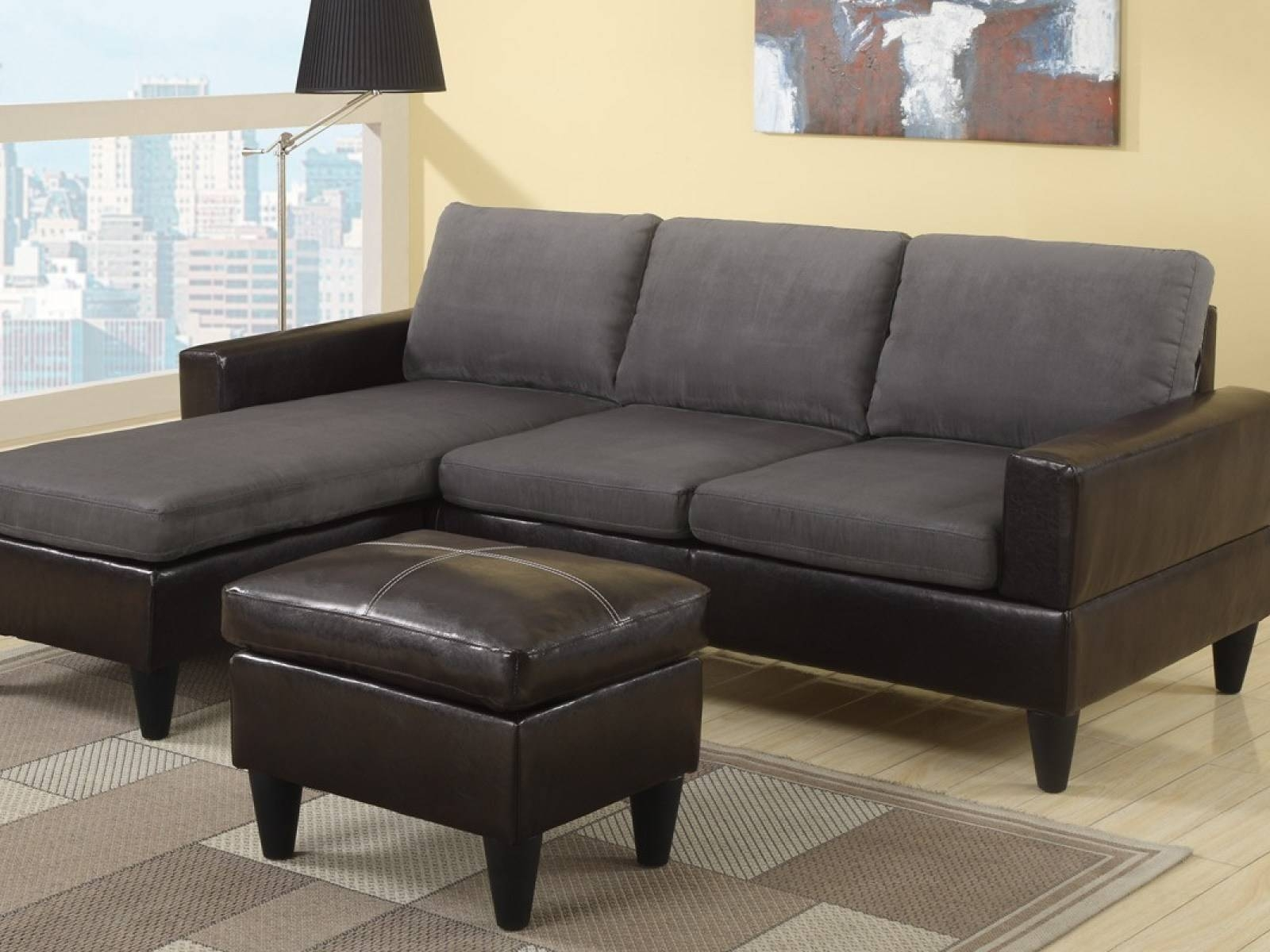 ☆▻ Sofa : Lovely Small Modern Sectional Sofa Charismatic throughout Mini Sectional Sofas (Image 30 of 30)