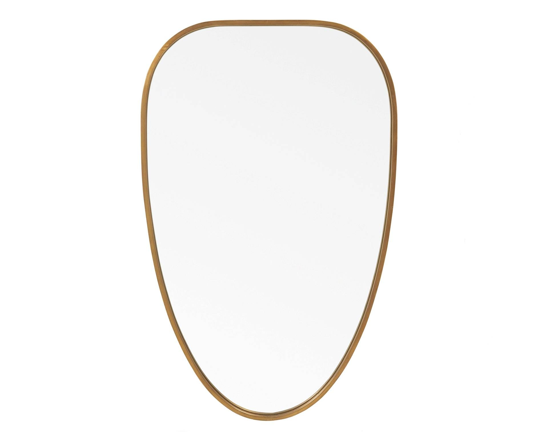 Easy Brass Mirror | Retro Wall Mirror | Loaf | Loaf regarding Retro Wall Mirrors (Image 15 of 25)
