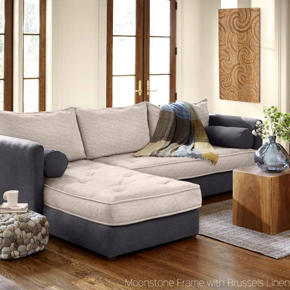 Eco-Friendly Linen Couches, Sofas & Sectionals | Vivaterra pertaining to Eco Friendly Sectional Sofa (Image 17 of 30)