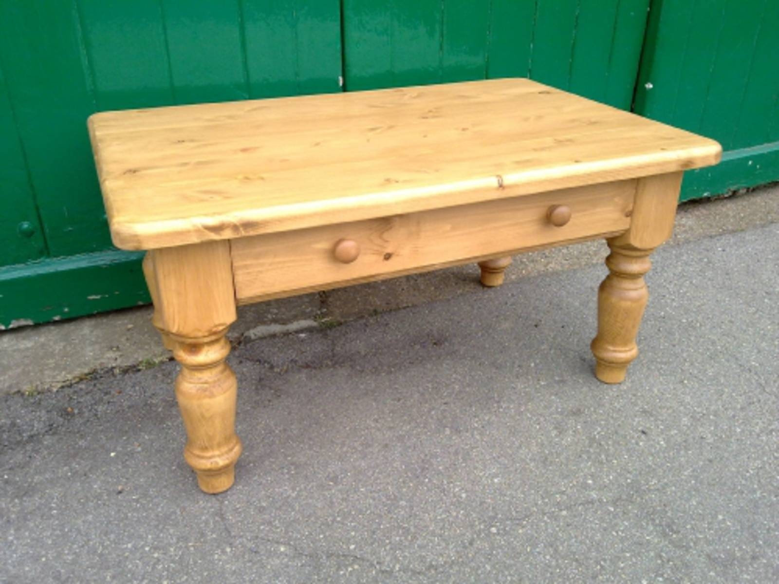 Edmunds 3' X 2' Coffee Table - - Pine Shop Bury throughout Pine Coffee Tables (Image 9 of 30)