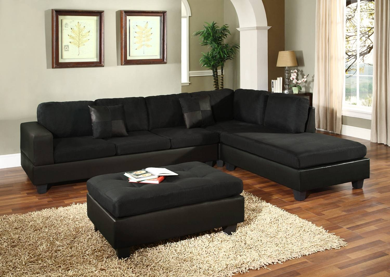 Eggplant Sectional Sofa - Ftempo Inspiration with Eggplant Sectional Sofa (Image 9 of 30)