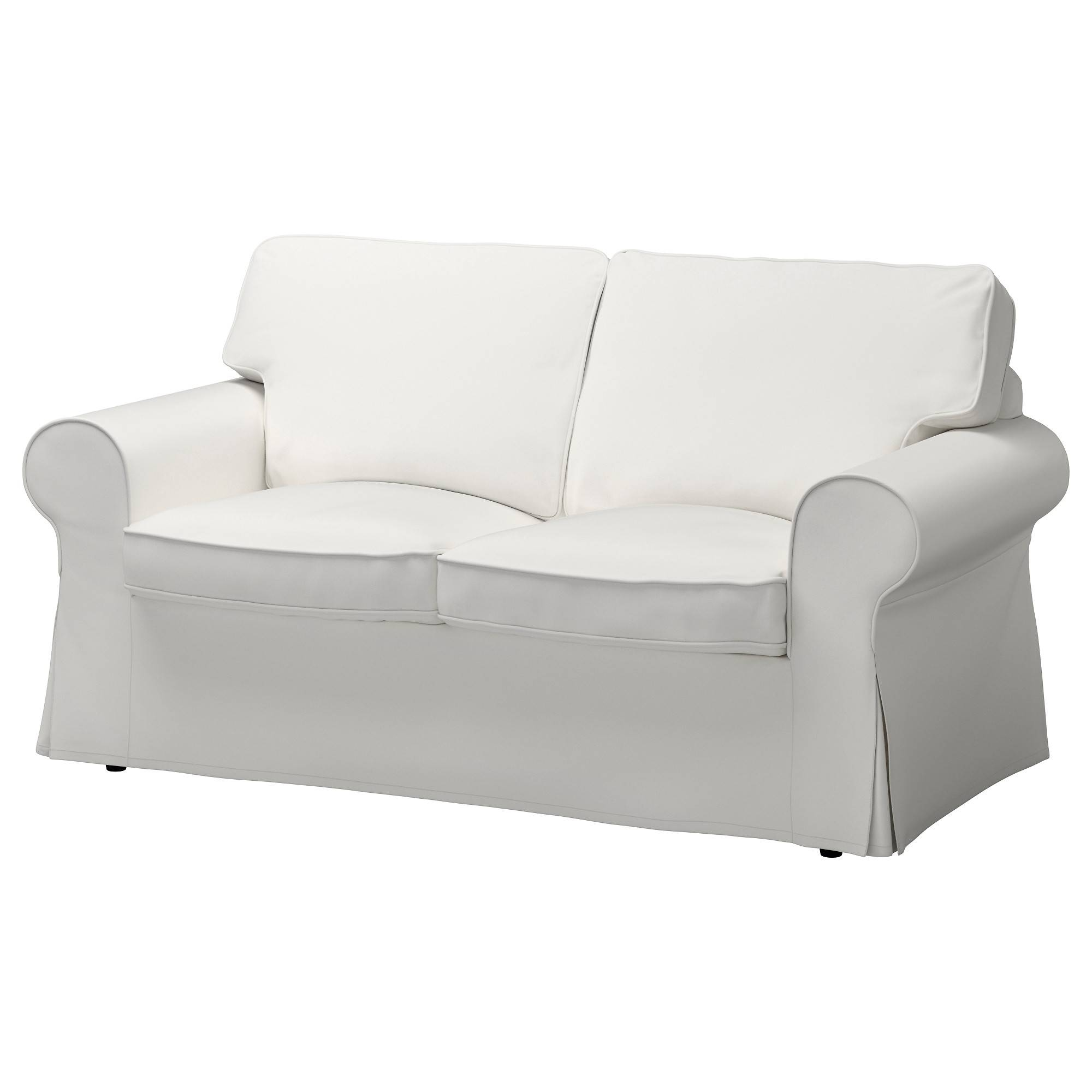 Ektorp Loveseat Cover - Nordvalla Dark Beige - Ikea throughout Black And White Sofas (Image 12 of 30)