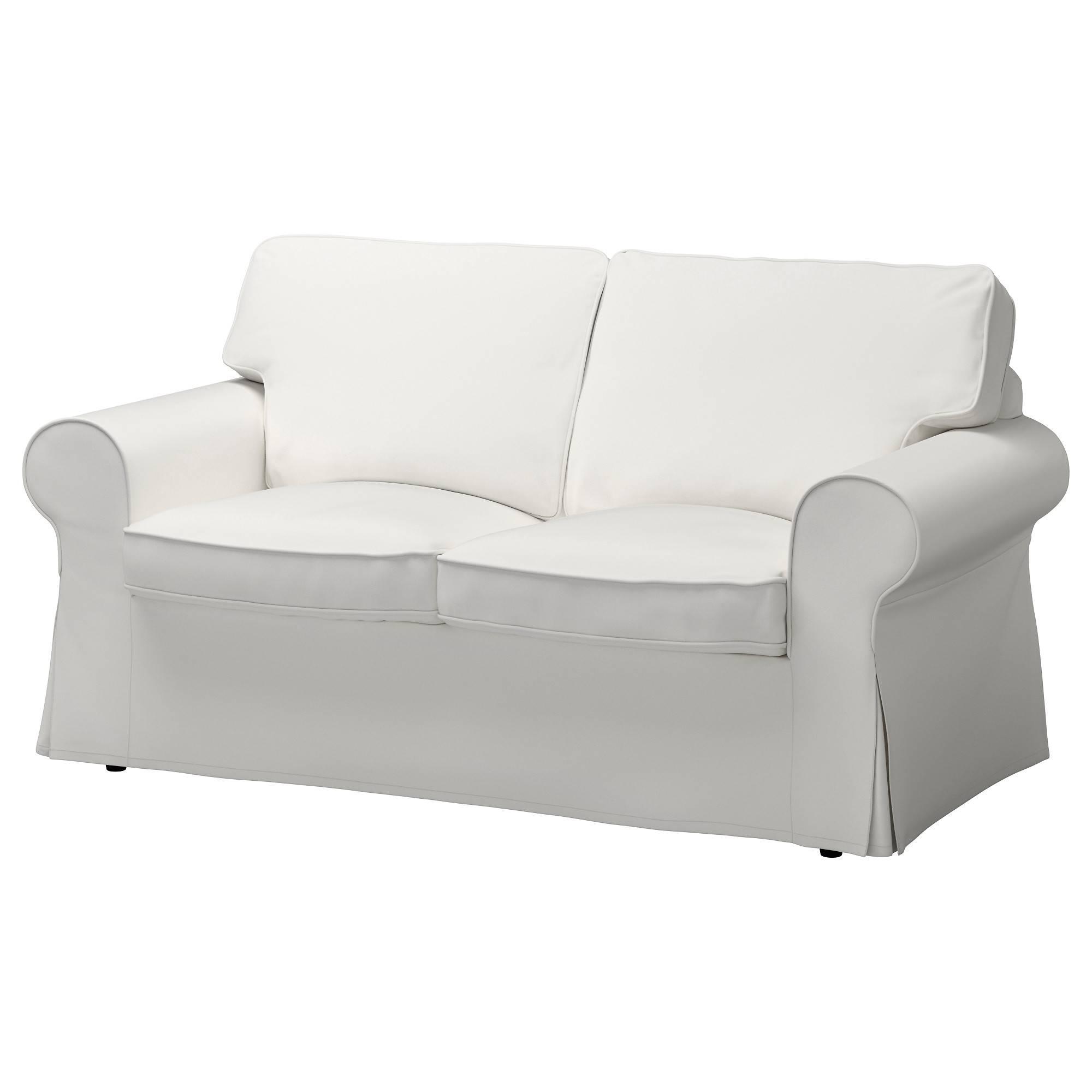 Ektorp Loveseat Cover - Nordvalla Dark Beige - Ikea throughout Black And White Sofas (Image 12 of 30)