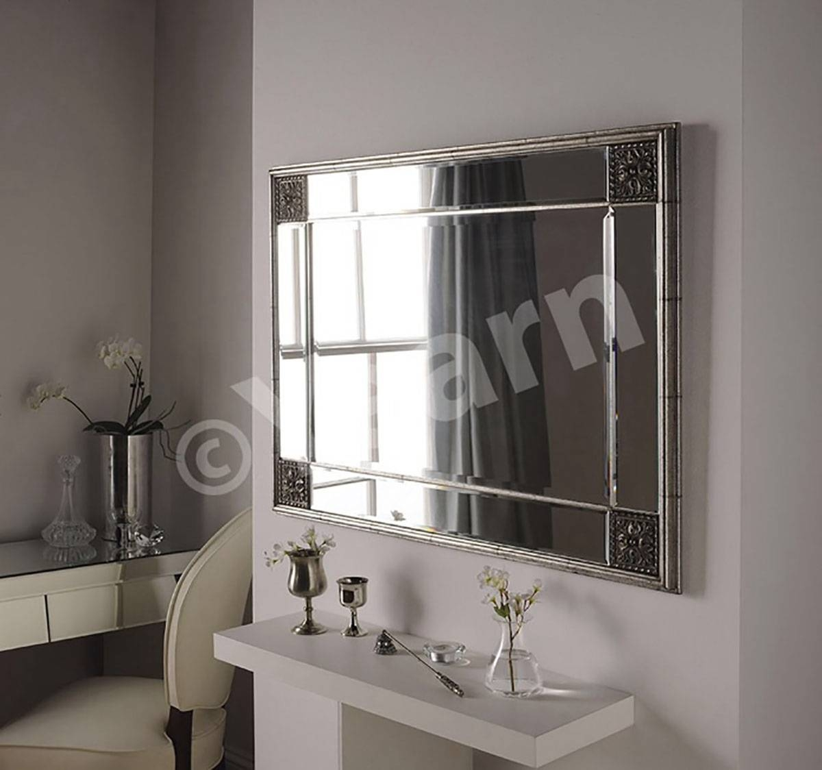 Elegance Contemporary Design Mirror - Mirror Elegance throughout Contemporary Mirrors (Image 13 of 25)