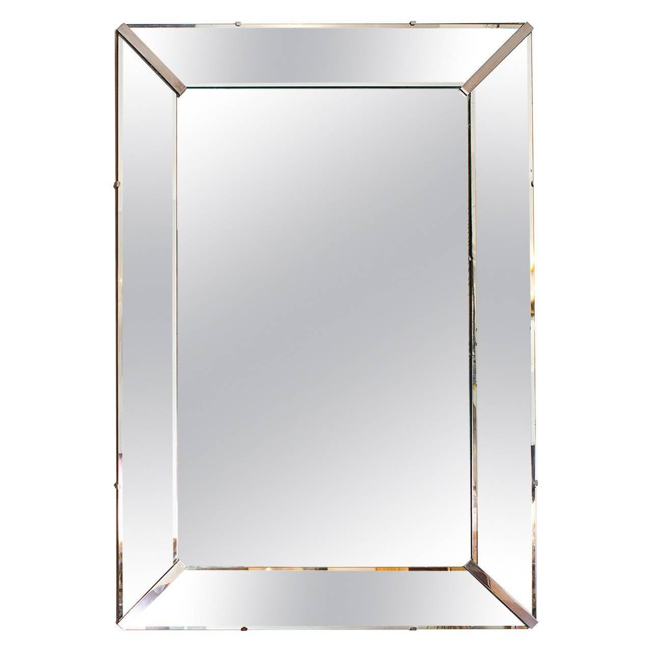 Elegant Art Deco Wall Mirror, France Circa 1940 At 1Stdibs in Art Deco Wall Mirrors (Image 14 of 25)