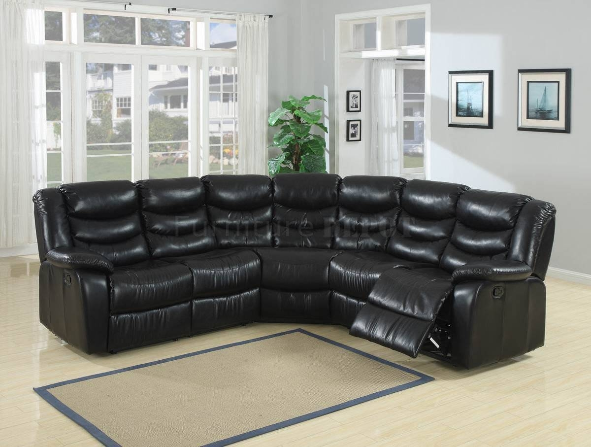 Elegant Collections Of Black Leather Sectional Sofas – Plushemisphere within Durable Sectional Sofa (Image 14 of 30)