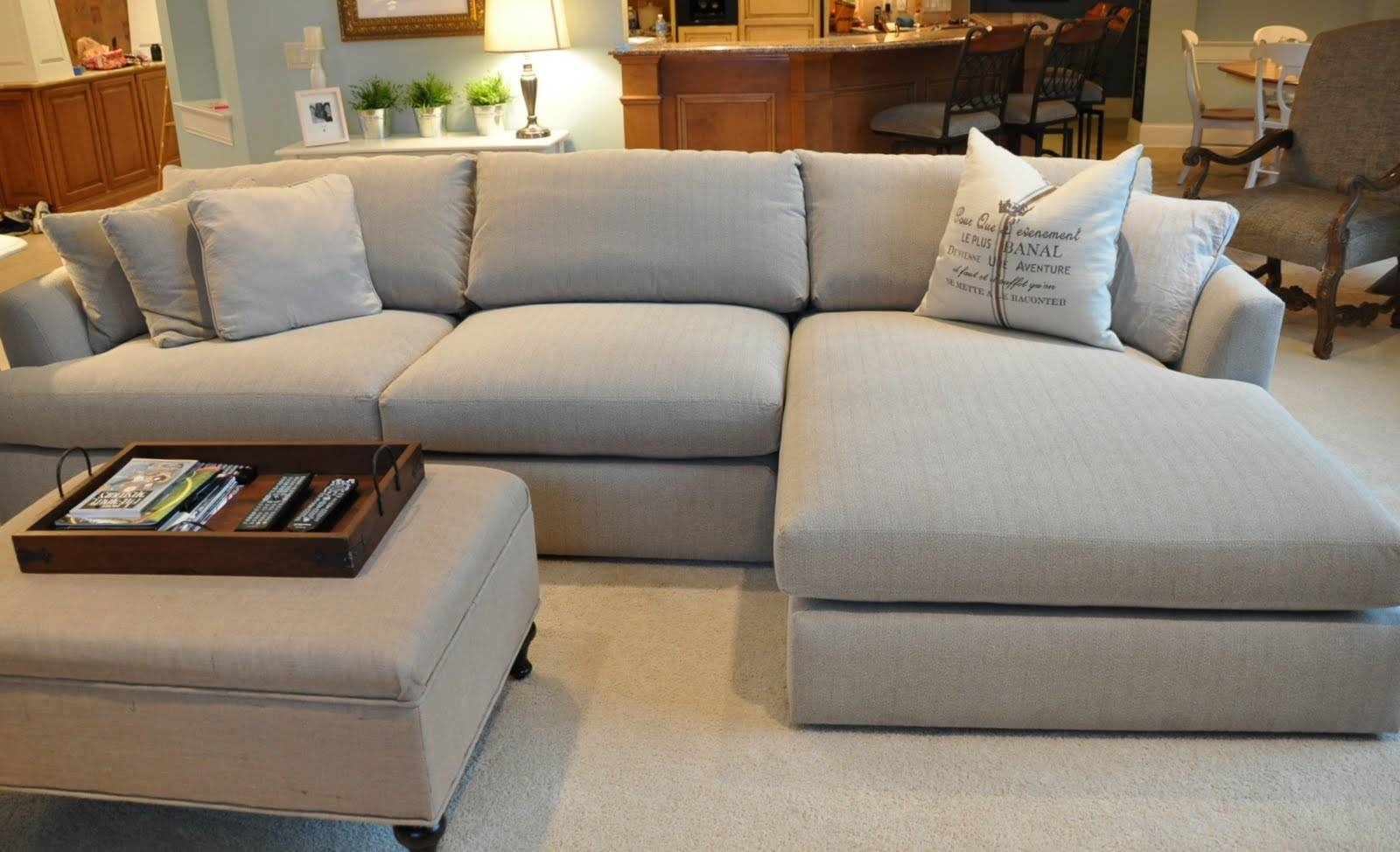 Elegant Deep Cushion Sectional Sofa 66 With Additional Sectional with regard to Sectional Sofas Under 600 (Image 9 of 30)