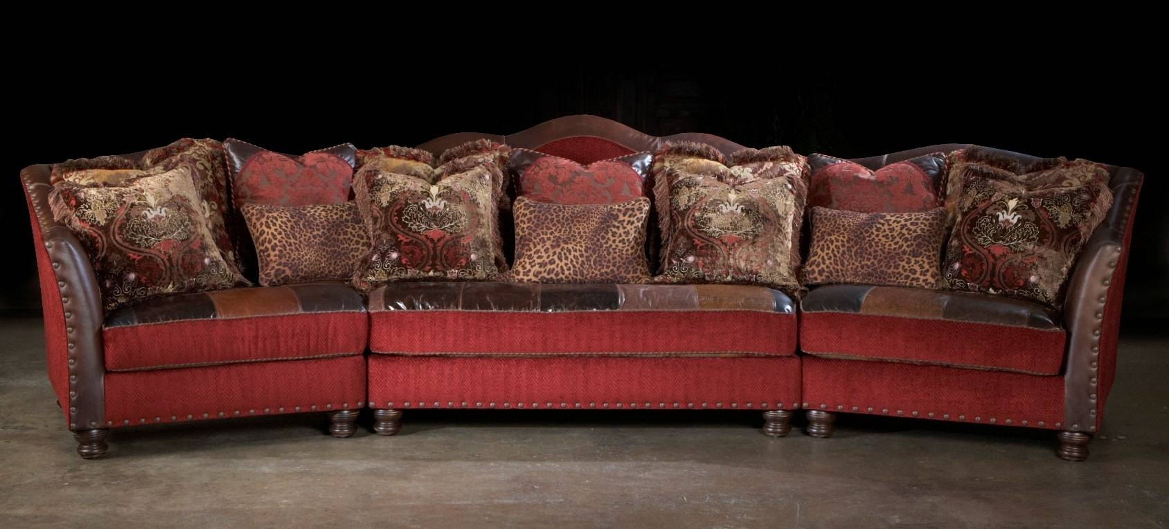 Elegant High End Leather Sectional Sofa 67 For Corinthian throughout Corinthian Sectional Sofas (Image 17 of 30)